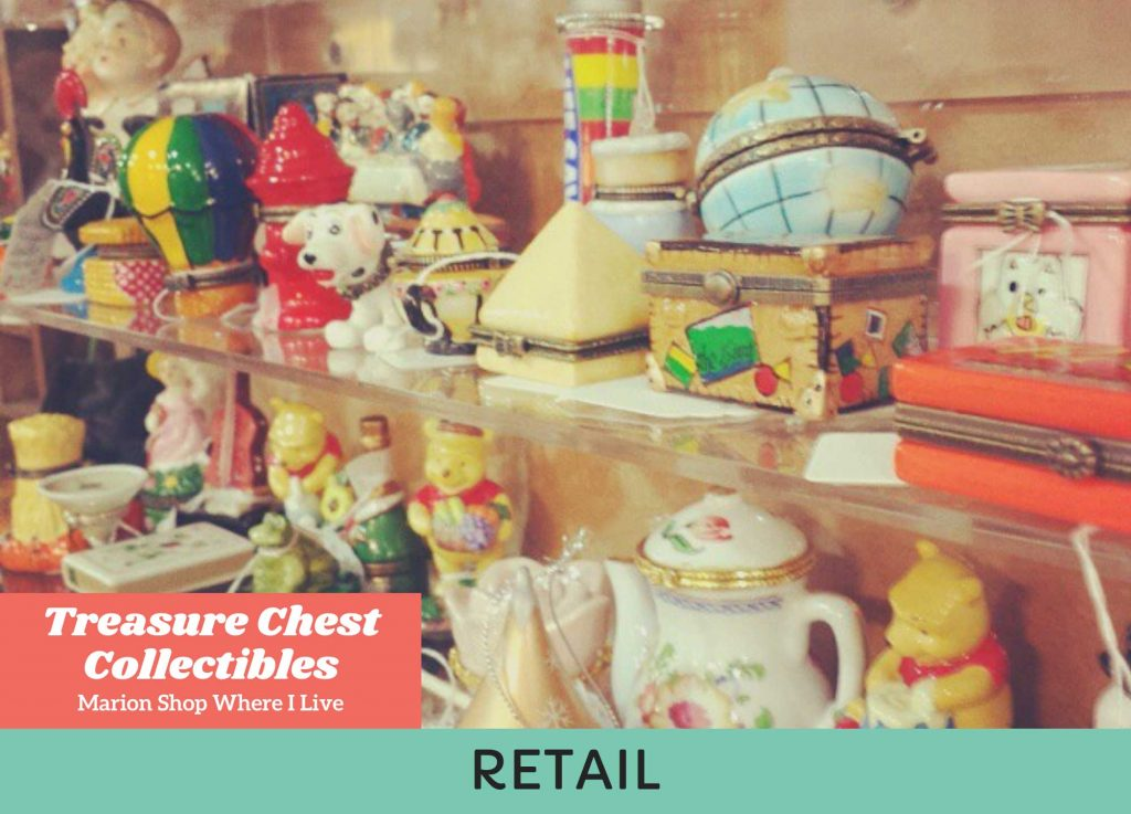 Treasure Chest Collectibles on Shop Where I Live
